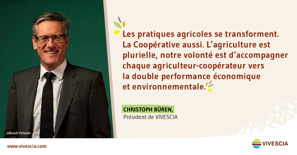 Citation de Christoph Büren, Président de VIVESCIA