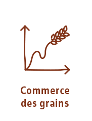 Commerce des grains
