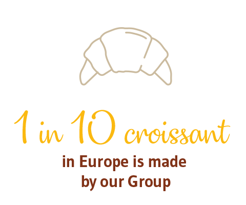 1 in 8 CROISSANTS in Europe is made by our Group