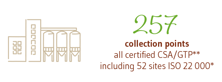 257 COLLECTION POINTS